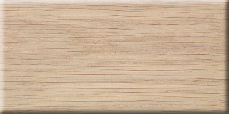 Solid woods - Oak, white finished