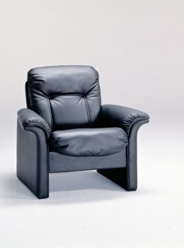 9690 executive chair w/leather black